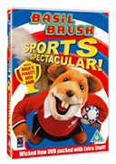 Basil Brush: Sports Spectaculer DVD cover