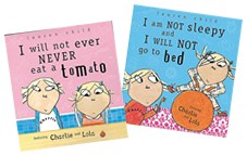 Charlie and Lola books by Lauren Child