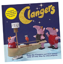 """The Clangers: Make the Clangers and Their Planet with 15 Easy Step-by-step Projects"" from Anova Books - buy yours now from Amazon.co.uk!"