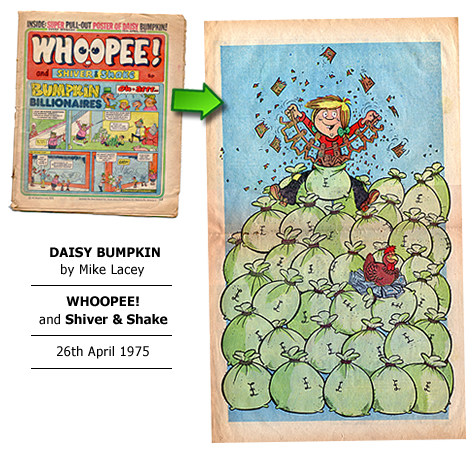"""Daisy Bumpkin"" poster by Mike Lacey"