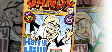 "Harry Hill stars in ""The Dandy""!"