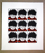Dennis the Menace screenprint by John Patrick Reynolds