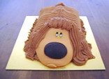 Tesco's exclusive Dougal cake!