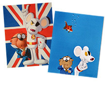 DangerMouse artwork from DangerMouseOriginals!