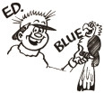 Ed and Blue...