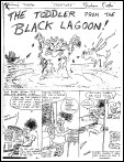 Graham Exton's 'Toddler From The Black Laggon'