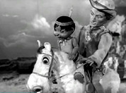 "Tex Tucker & Makooya in ""Four Feather Falls"" (AP Films / Granada)"