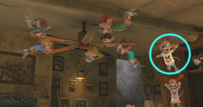 the hound the hidden detail in flushed away 2006