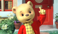 "Rupert Bear in ""Rupert Bear, Follow the Magic"" (Classic Media / Express Newspapers)"
