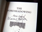 """The Foreshadowing"" signed edition"