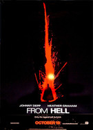 From Hell - US advance movie poster