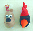 Preston and Feathers fridge magnets
