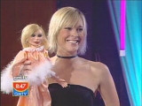 Spot the difference: GMTV's Jenni and Lady P.