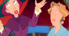 "Aunt Dete in ""Heidi"" from Telemagination/TV-Loonland/Nelvana"