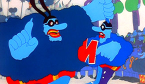 Top 10 Toon Terrors #9 - The Blue Meanies (image copyright Apple Corps/UA/MGM)