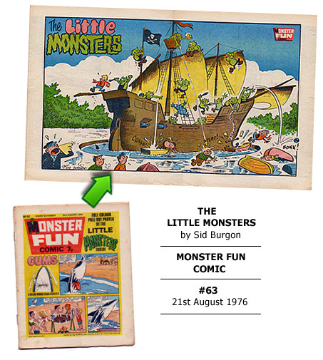 """The Little Monsters"" poster by Sid Burgon"