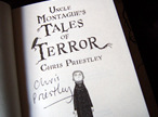 """Uncle Montague's Tales of Terror"" - signed first edition"
