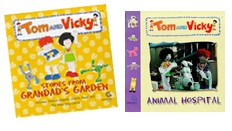 Tom & Vicky tie-in books