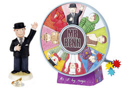 Robert Harrop's Mr Benn Musical Box + Mr Benn figure - (each sold separately)