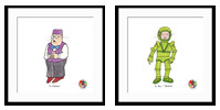 Mr Benn Adventures from The Animation Art Gallery