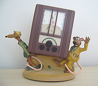 Nick & Fetcher am/fm radio alarm clock