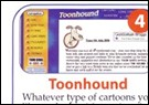 Toonhound in Internet Monthly