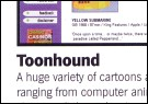 Toonhound in .net magazine
