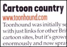 Toonhound in Web User