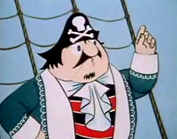 "Captain Pugwash from ""Captain Pugwash"", a John Ryan production for the BBC"