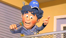 "Big Chris in ""Roary the Racing Car"" (Chapman Entertainment Ltd & David Jenkins)"