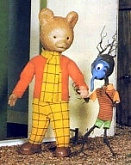 Rupert Bear and Raggety
