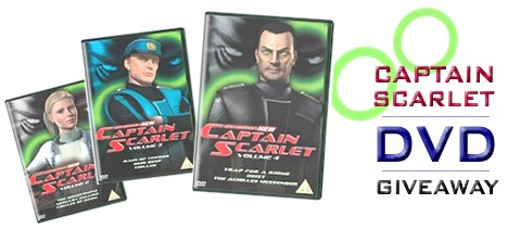 Toonhound's Captain Scarlet Giveaway!