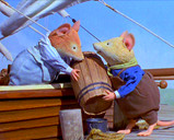 "Intrepid Sailors  Dusty and Purslane in ""Brambly Hedge: Sea Story"" from HIT Entertainment"