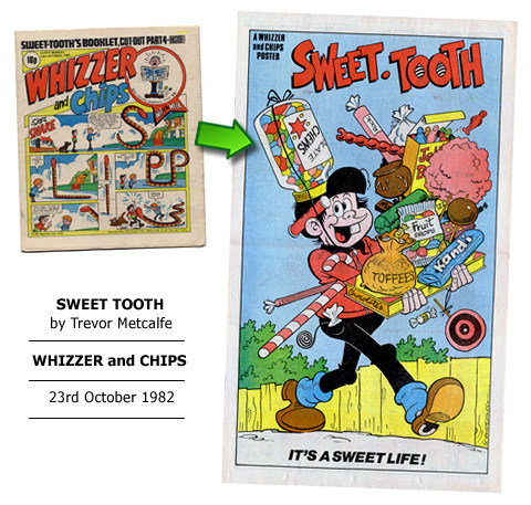"""Sweet Tooth"" poster by Trevor Metcalfe"