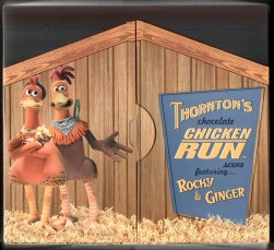 Thornton's Chocoloate Chicken Run Scene - yummy!