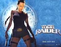 Tomb Raider quad movie poster