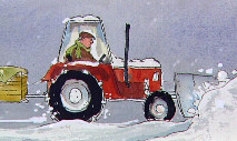 Little Red Tractor Stories from Colin Reeder