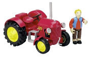 Stan & The Little Red Tractor from Corgi