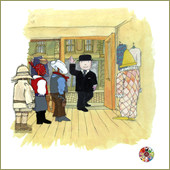 Mr Benn giclee prints from the Animation Art Gallery