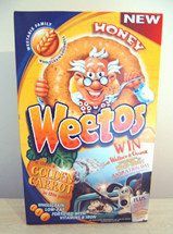 Weetos Golden Carrot promotion