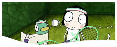 """Sarah and Duck"" are back on CBBC! (Karrot Entertainment)"