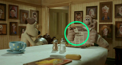 """Wallace & Gromit: The Curse of the Were-Rabbit"" (Aardman/DreamWorks)"