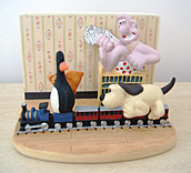 Wallace & Gromit Train Chase Scene