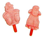 Wallace & Shaun lollies!