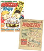 Whizzer & Chips - issue #1 & 18th Birthday edition