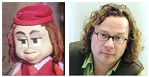 Hugh Fearnley-Whittingstall and Cue-ee-Dee - separated at birth?