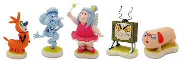 Robert Harrop's Willo the Wisp figures - order yours from Boojog Collectables!